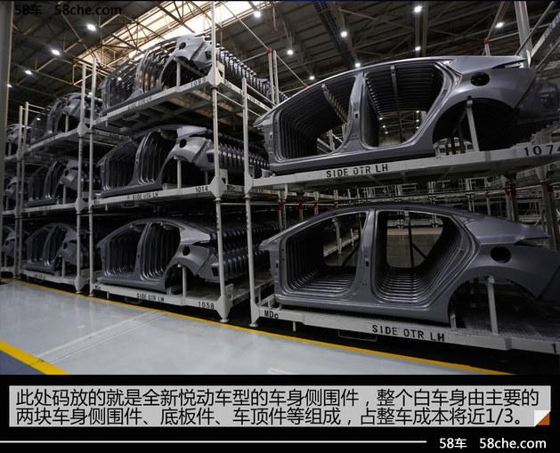 北京现代第三工厂解析 车间空无一人