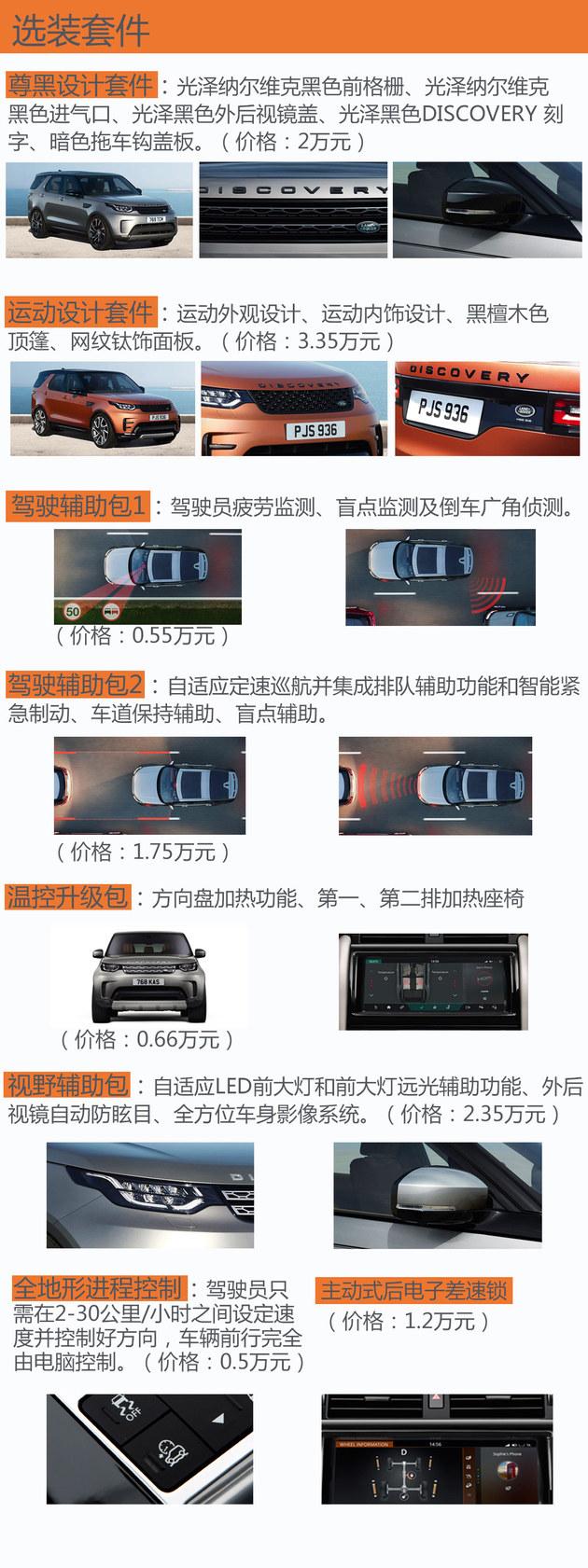 路虎全新一代发现购车手册 推荐S/HSE版