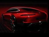 2017日内瓦车展探馆:AMG GT4预告图