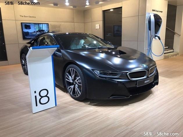 2017日内瓦车展探馆:宝马i8特别版曝光