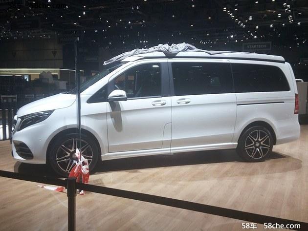 2017日内瓦车展:奔驰Marco Polo新车型