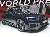 2017日内瓦车展:新奥迪RS 5 Coupe亮相