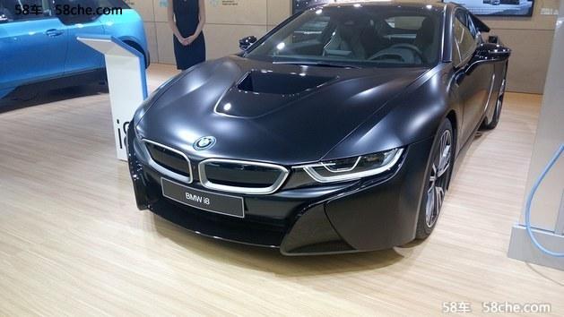 2017日内瓦车展:宝马i8黑色特别版首发