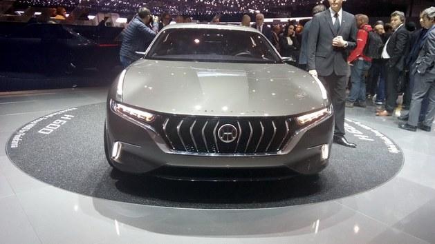 2017日内瓦车展:正道H600车型正式发布