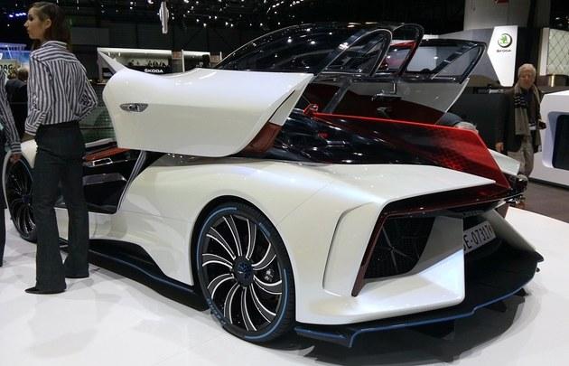 2017日内瓦车展:泰克鲁斯·腾风GT96