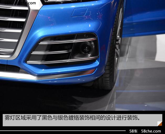 2017日内瓦车展实拍  奥迪全新SQ5 3.0T