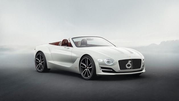 2017日内瓦车展 宾利EXP 12 Speed 6e