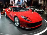2017日内瓦车展实拍 法拉利812 Superfast