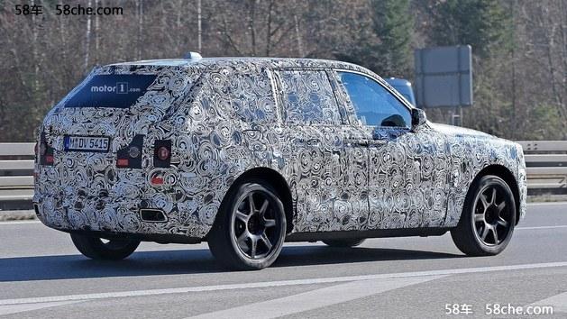 劳斯莱斯SUV假想图曝光 2018年将投产