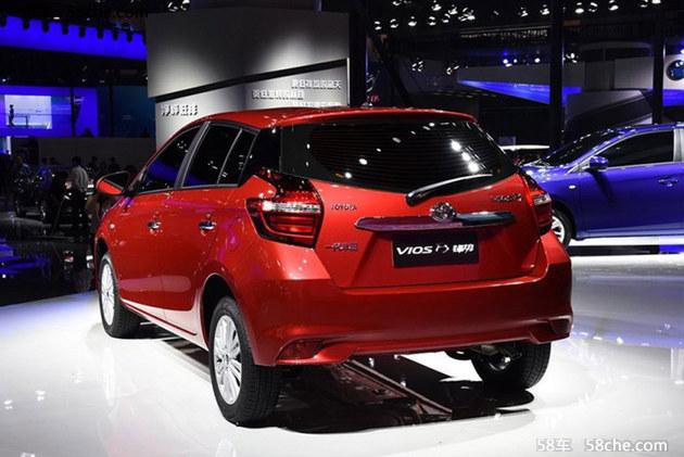 一汽丰田威驰FS配置曝光 1.3L/1.5L动力