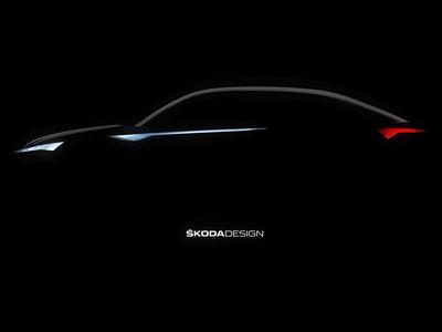 斯柯达概念车预告图 柯迪亚克Coupe雏形