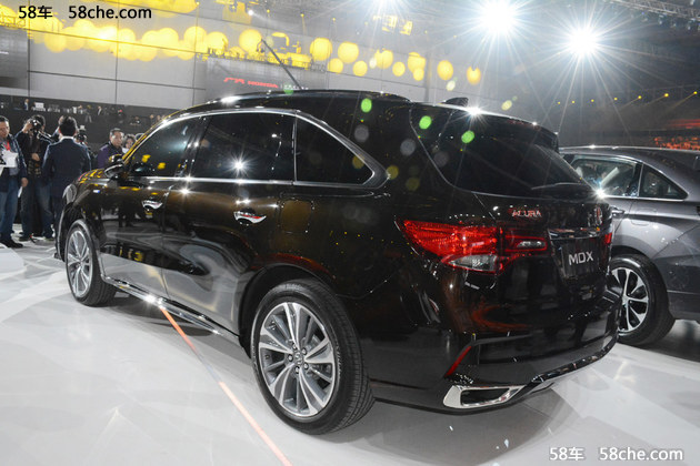 讴歌新MDX国内首次亮相 上海车展上市