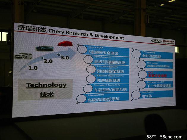 奇瑞与格特拉克合作推出双离合变速器