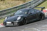 2018款保时捷911 GT2谍照 空气动力优化