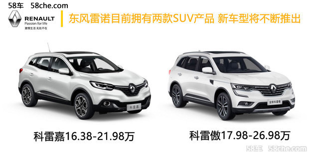 营销 每年1款新车 东风雷诺发力2017高清图片