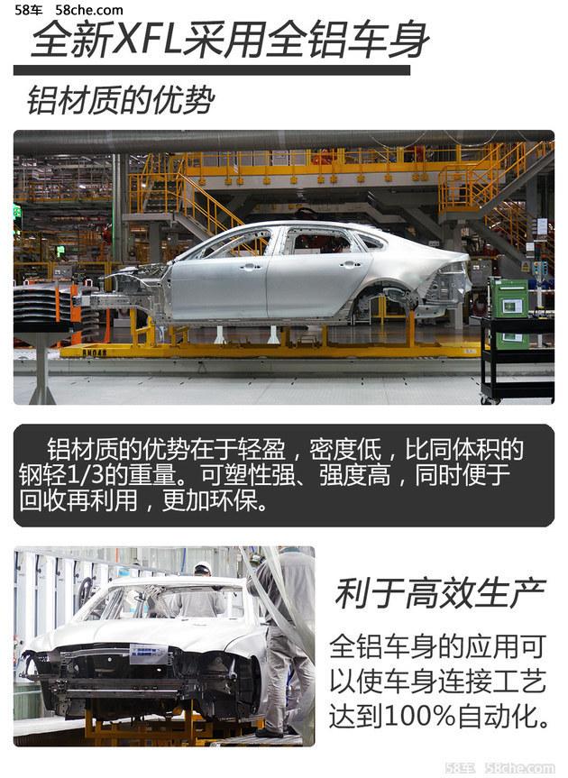 奇瑞捷豹路虎全铝技术 轻量化最佳方案