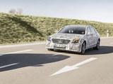 新款奔驰S级内饰官图 增多种安全配置