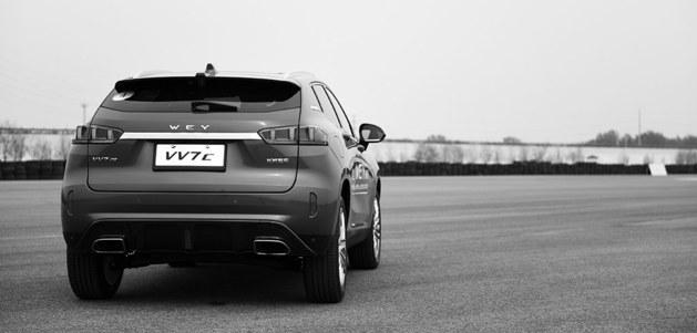长城高端品牌WEY VV7试驾 专注且前行高清图片