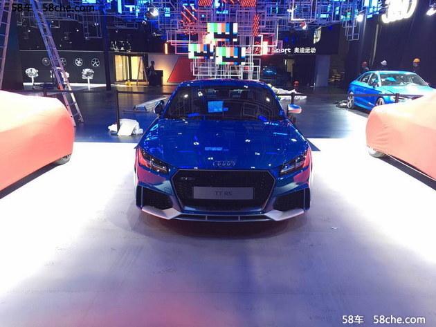 2017上海车展探馆 奥迪TT RS版本亮相