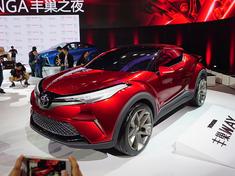 丰田全新SUV概念车实拍