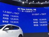 2017上海车展 哈弗新H6上市售11.88万起