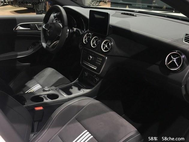 2017上海车展:奔驰A级极地限量版首发