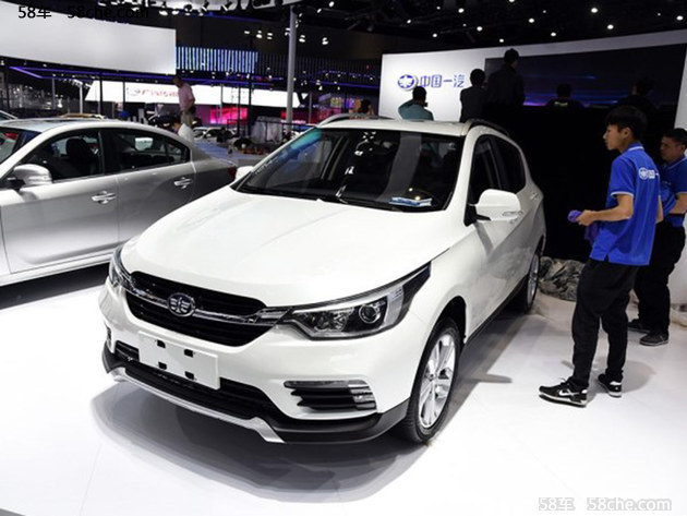 2017上海车展 天津一汽新款骏派D60发布