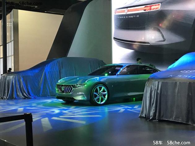2017上海车展 正道H600概念车国内首发