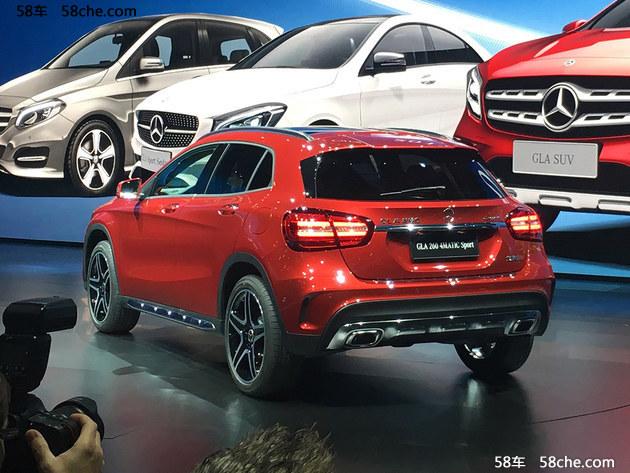 2017上海车展 北京奔驰新款GLA正式发布
