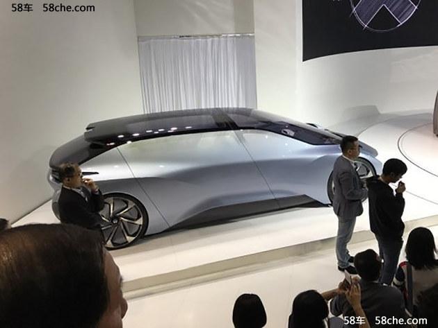2017上海车展蔚来EVE无人驾驶概念车发布