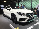 2017上海车展 AMG GLA45 4MATIC新款亮相