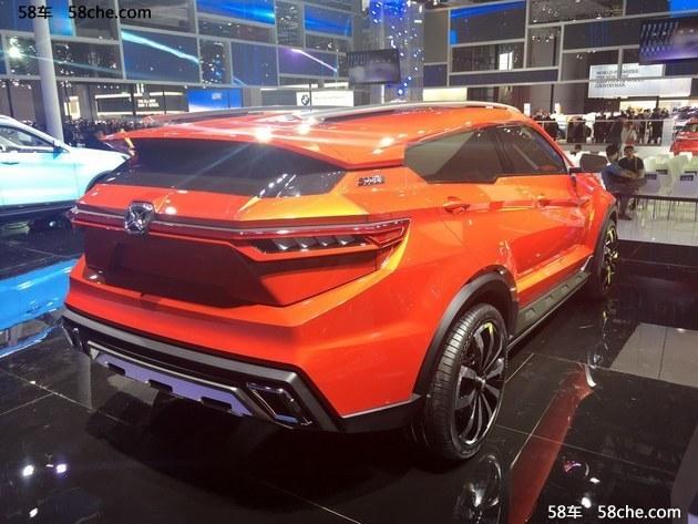 2017上海车展:江铃驭胜全新概念车发布