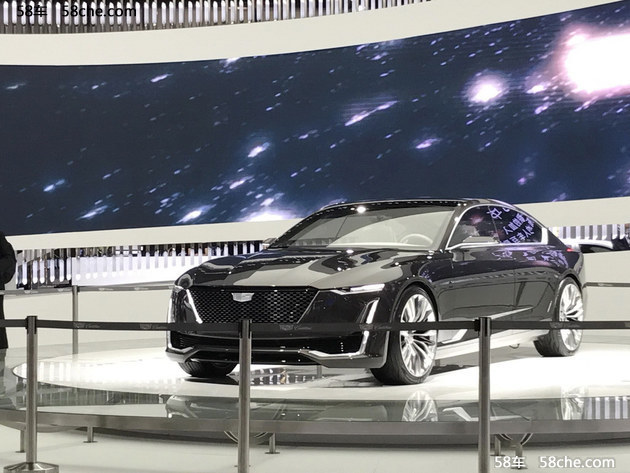 2017上海车展 凯迪拉克Escala概念车发布