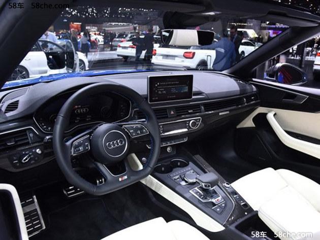 2017上海车展 奥迪新款S5 Cabriolet亮相