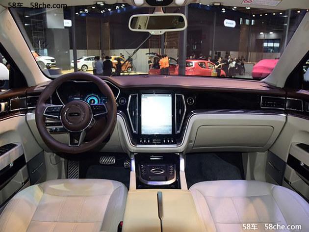 2017上海车展 全新众泰T700国内正式亮相