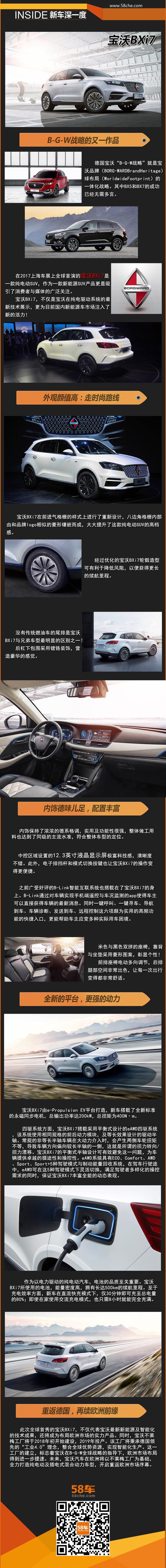 2017上海车展新车深一度 宝沃BXi7亮相
