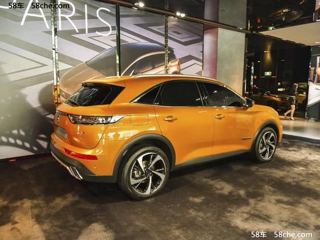 2017上海车展 DS 7 CROSSBACK国内亮相