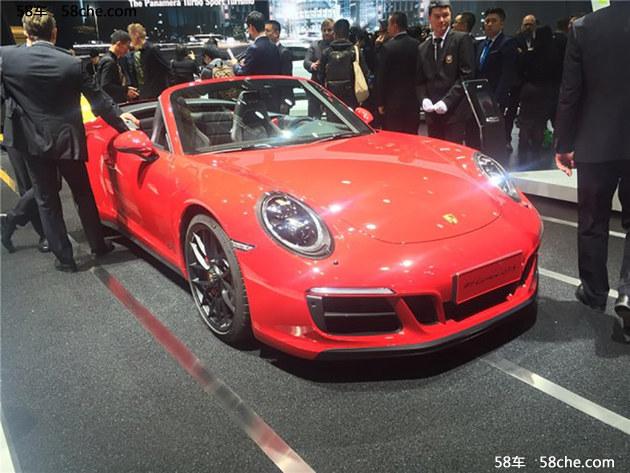 2017上海车展 保时捷新款911 GTS系列