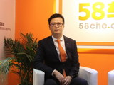 2017上海车展 访海马汽车销售公司刘力壮