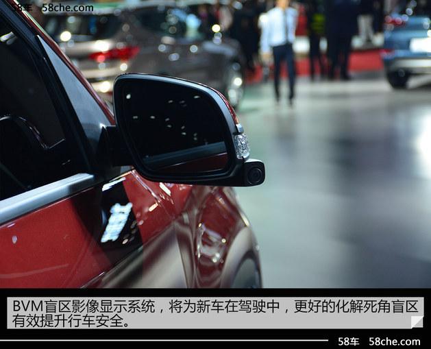 2017上海车展 北京现代新一代ix35实拍