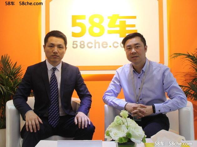 2017上海车展 访一汽吉林公关部康志伟