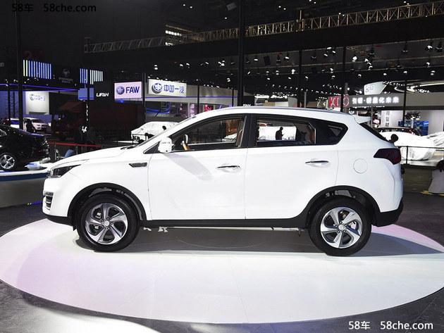 2017上海车展 华泰圣达菲WX 35正式亮相