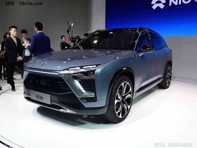2017上海车展 蔚来汽车ES8车型正式亮相