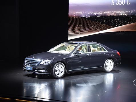 中期改款奔驰S全球首发