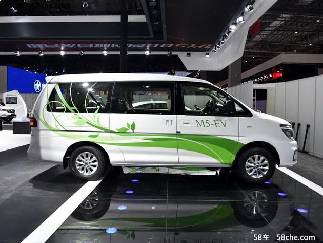 2017上海车展 东风风行菱智M5 EV版发布