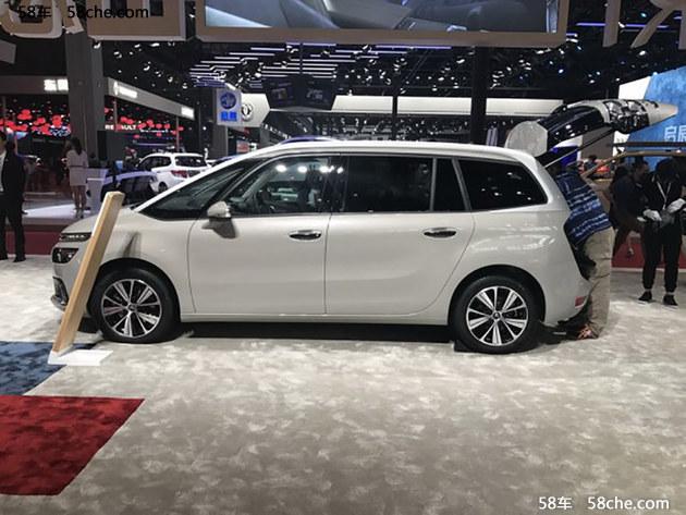 2017上海车展 新Grand C4 PICASSO亮相