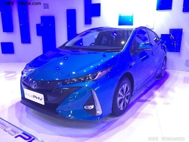 2017上海车展 丰田全新普锐斯Prime亮相