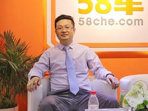 2017上海车展 访东卫4S店服务总监开诚华