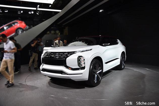 2017上海车展 三菱eX概念车/跨界SUV亮相