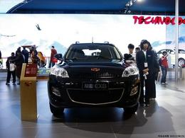 2010北京车展吉利帝豪EX8
